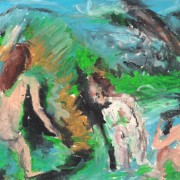 Homage to Cezanne's Bathers