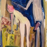 Study for Couple in the Mirror
